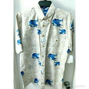 Hook and Tackle Kingfisk shirt new sz M nwt